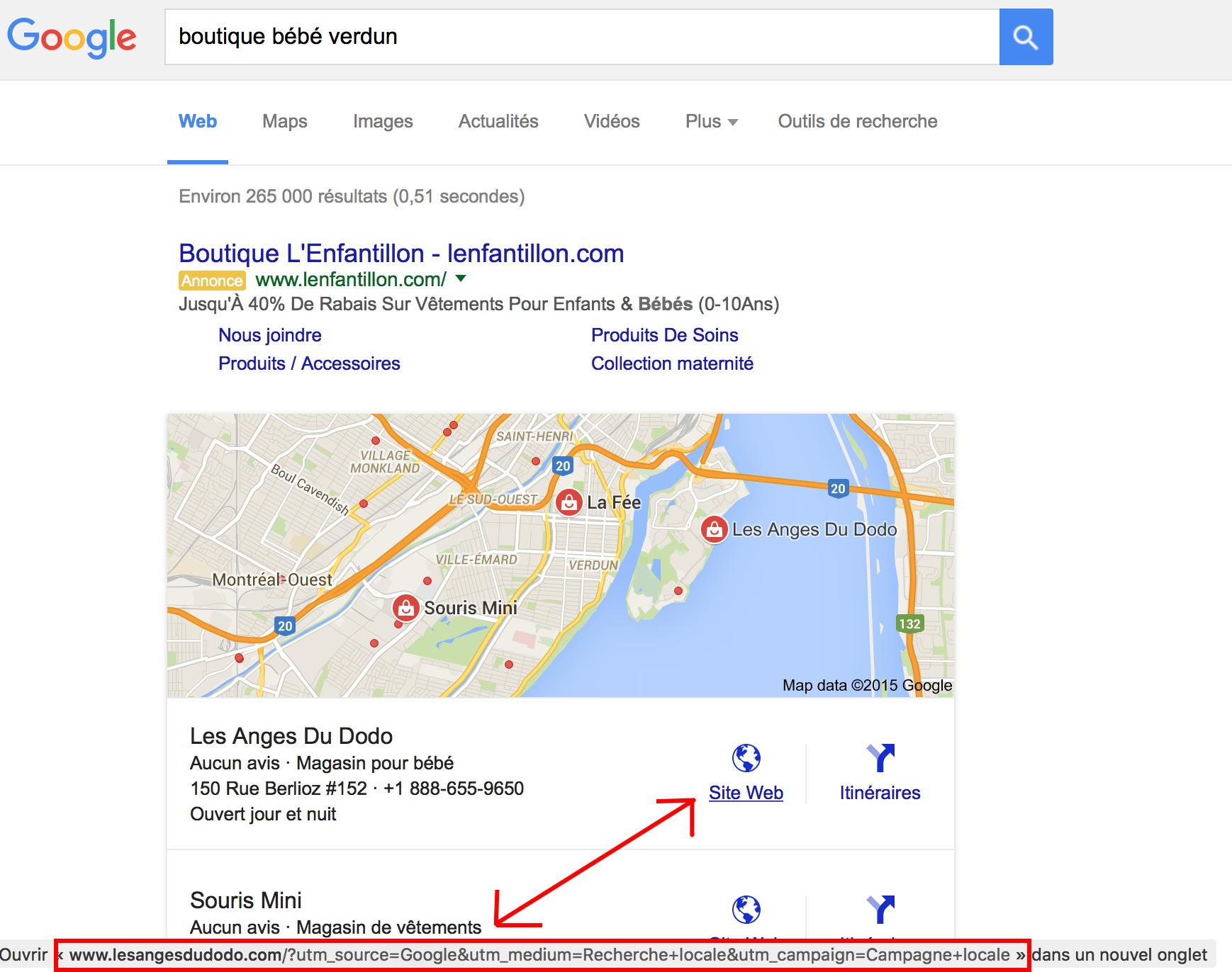 resultat google